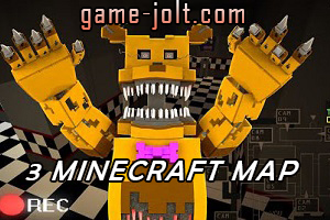 Five Nights At Freddy's 3 Minecraft Map | Game Jolt Fnaf