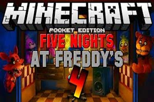 Five Nights at Freddy's 4 Minecraft Map | Game Jolt Fnaf