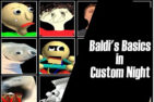 Baldi's Basics in Custom Night